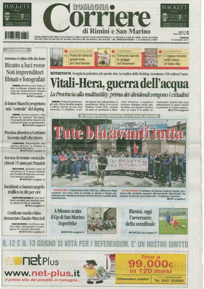 Corriere 2011.06.10 Copertina