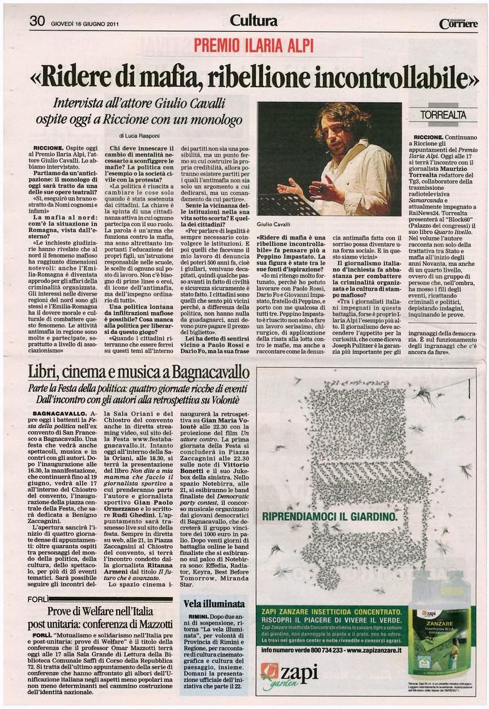 Corriere 2011.06.16 Pagina