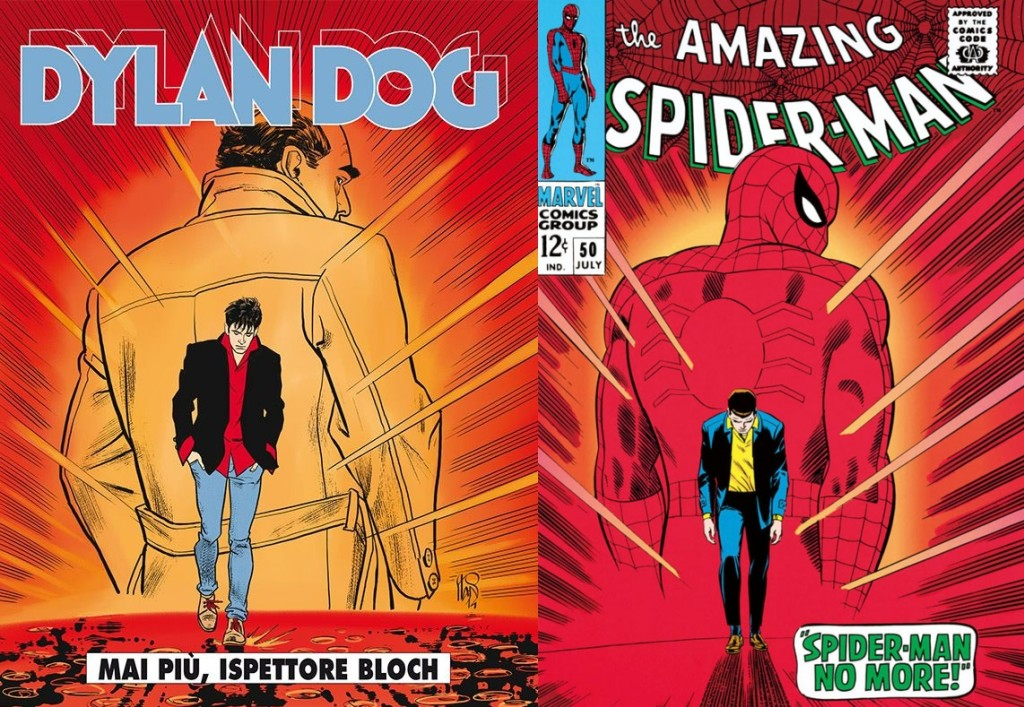 Dylan Dog #338 / The Amazing Spider-Man #50