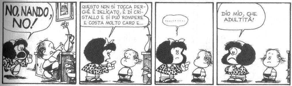 Mafalda e il fratellino Nando
