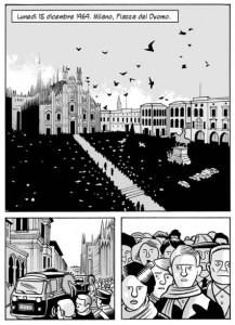 I funerali delle vittime in piazza del Duomo