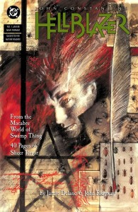 Hellblazer #1 (Art by Dave McKean)