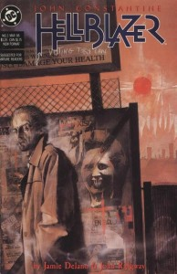 Hellblazer #3 (Art by Dave McKean)