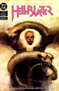 Hellblazer #22 (Art by Dave McKean)