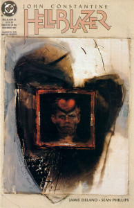 Hellblazer #35 (Art by Dave McKean)