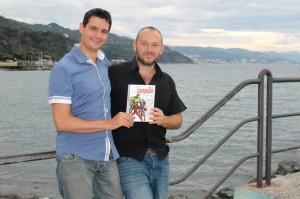 Luca Barbieri e Gianluca Ferrari (foto: Valentina Bocchino/Cronache Ponentine)
