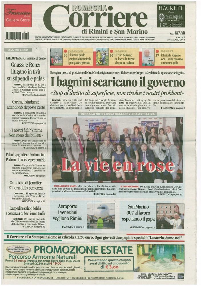 Corriere 2011.05.24 Copertina