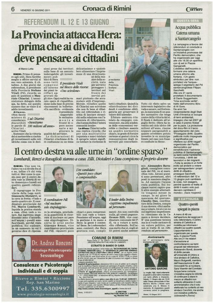 Corriere 2011.06.10 Pagina