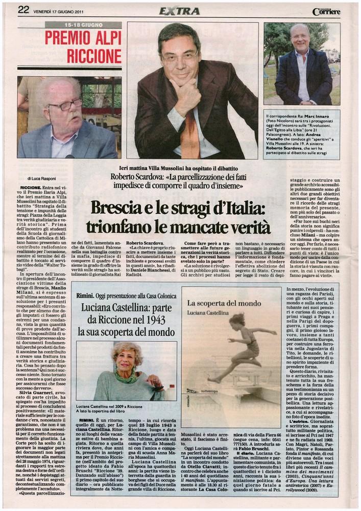 Corriere 2011.06.17 Pagina