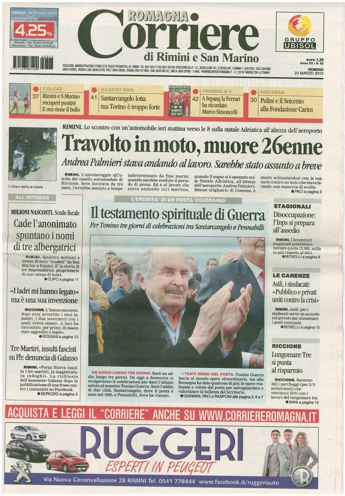 Corriere 2012.03.23 Copertina