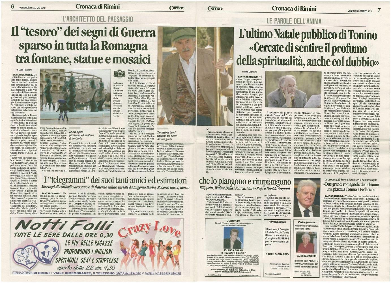 Corriere 2012.03.23 Pagina
