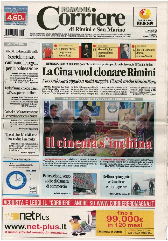 Corriere 2012.03.24 Copertina