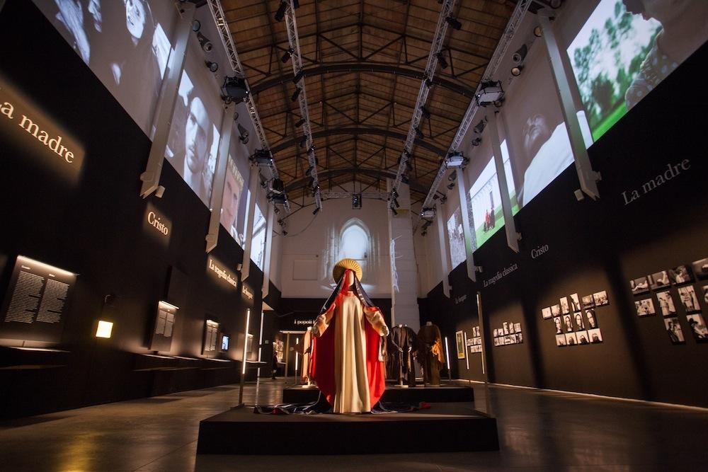 Officina Pasolini, veduta della mostra (foto: Lorenzo Burlando per Espoarte)