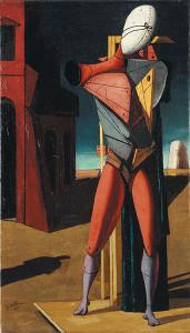 Giorgio de Chirico - Il trovatore