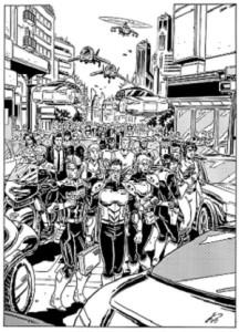 Fumetti contro le mafie: La lunga marcia, Nathan Never 297