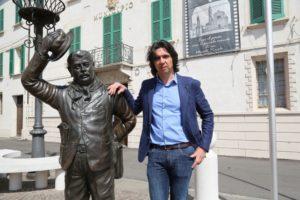 Brescello sciolto per mafia: l'ex sindaco Marcello Coffrini (foto: Gazzetta di Reggio)