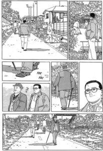 L'uomo che cammina: Jiro Taniguchi