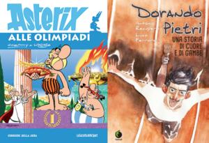 Le Olimpiadi a fumetti: Asterix e Dorando Pietri