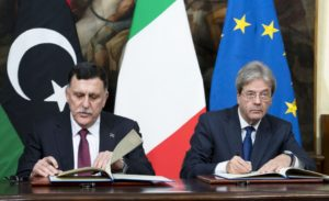 Accordo con la Libia | Gentiloni e Serraj