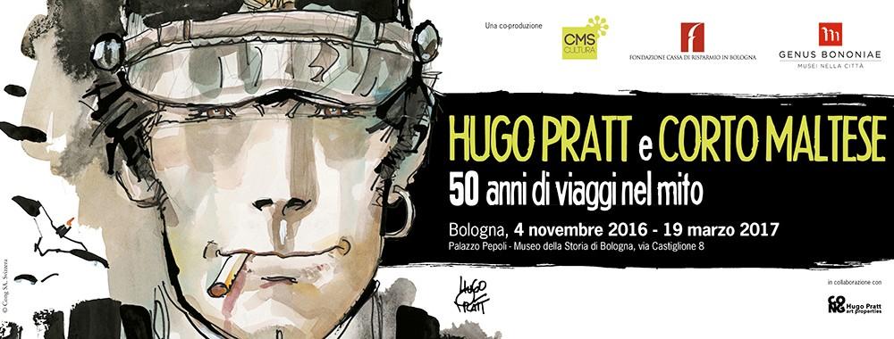 Mostra di Corto Maltese a Bologna: banner