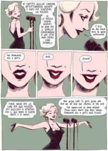 Goodbye Marilyn: diamonds