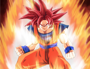 Dragon Ball Super: Goku Super Saiyan God