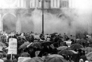 Nuova sentenza per piazza della Loggia: l'esplosione (foto: Wikipedia)