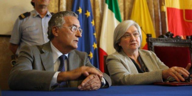 Relazione della Direzione nazionale antimafia: Rosy Bindi e Franco Roberti