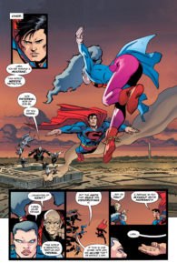 The Dark Knight III: The Master Race - Superman e Supergirl