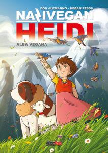 Nazivegan Heidi: la copertina