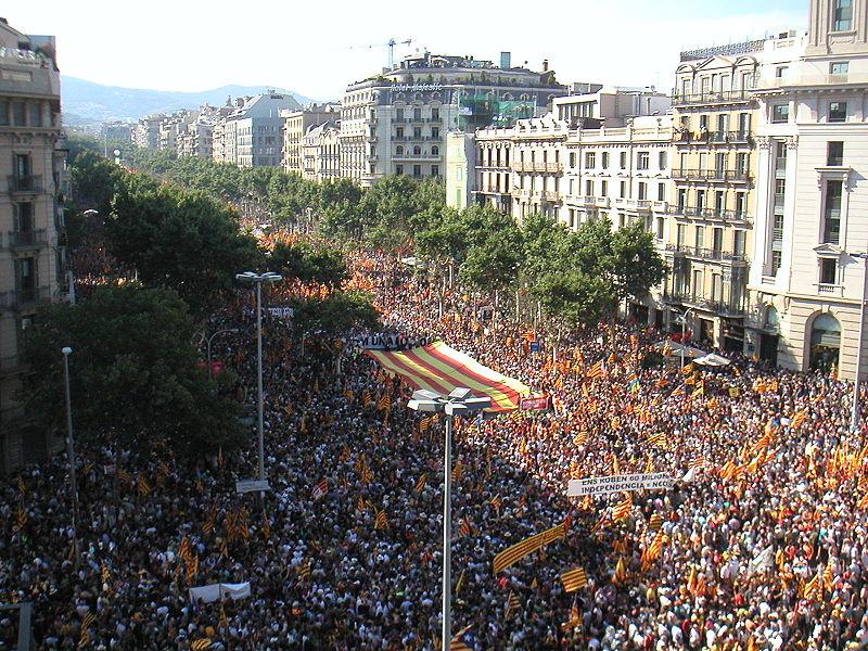 Referendum in Catalogna: Manifestazione indipendentista del 10 luglio 2010 (Wikipedia)