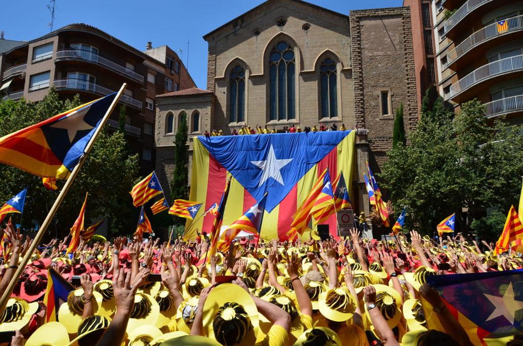Referendum in Catalogna: Manifestazione indipendentista del 7 luglio 2013 (Wikipedia)