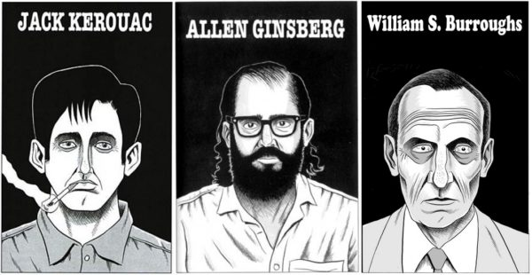 The Beats - Kerouac-Ginsberg-Burroughs